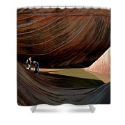 'the Wave' North Coyote Buttes 44 Shower Curtain