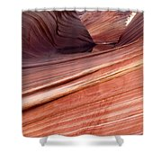 'the Wave' North Coyote Buttes 62 Shower Curtain