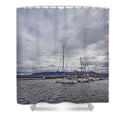 The Waves Of Destiny Shower Curtain