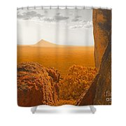 The Way To Frenchman's Peak Shower Curtain