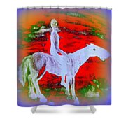 You Ride The Way You Ride But Where   Shower Curtain