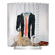 The Weariness Shower Curtain