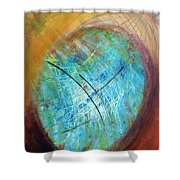 The Web Of Life Shower Curtain