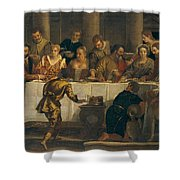 The Wedding At Cana Shower Curtain