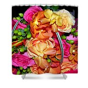 The Wedding Flowers Shower Curtain