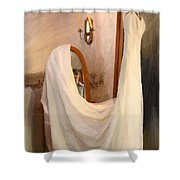 The Wedding Gown Is Ready Shower Curtain