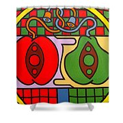 The Wedding Shower Curtain by Patrick J Murphy