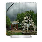 The Wedding Place Install Shower Curtain