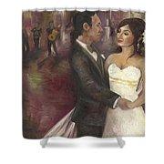 The Wedding Shower Curtain