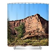 The Wedge Canyon Dechelly Shower Curtain