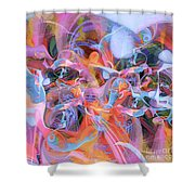 The Welling Wall 1 Shower Curtain