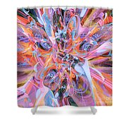 The Welling Wall 2 Shower Curtain