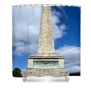 The Wellington Monument Shower Curtain