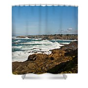 The West Coast Shower Curtain