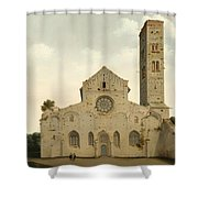 The West Facade Of The Church Of Saint Mary In Utrecht Shower Curtain