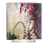 The Wheel Of Brisbane Shower Curtain