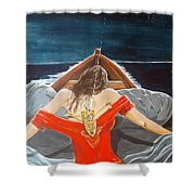 The Whims Of The Moon  Shower Curtain