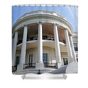 The White House South Portico Shower Curtain