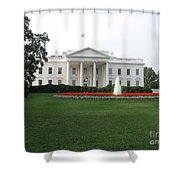 The White House - Washington D C Shower Curtain