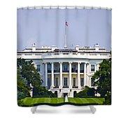 The Whitehouse - Washington Dc Shower Curtain