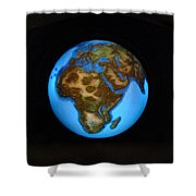 The Whole World Shower Curtain