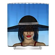 The Widow... Shower Curtain