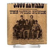 The Wild Bunch Shower Curtain