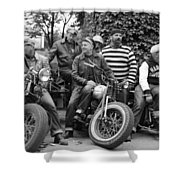 The Wild Ones Shower Curtain