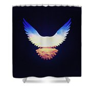 The Wild Wings Shower Curtain