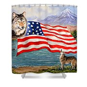 The Wildlife Freedom Collection 1 Shower Curtain