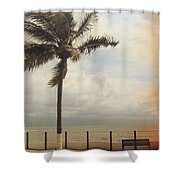 The Wind In My Hair Shower Curtain by Laurie Search