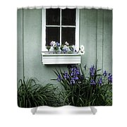 The Window Box Shower Curtain