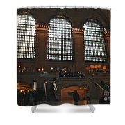 The Windows At Grand Central Terminal Shower Curtain