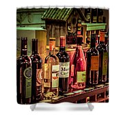 The Wine Shop Shower Curtain