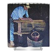 The Winemaker Shower Curtain