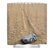 The Winner Death Valley Moving Rock Shower Curtain