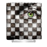 The Winner Shower Curtain by Semmick Photo