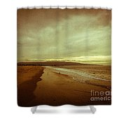 The Winter Pacific Shower Curtain