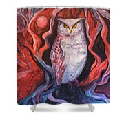 The Wise One Shower Curtain