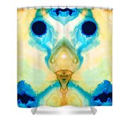 The Wise Ones - Visionary Art By Sharon Cummings Shower Curtain