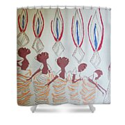 The Wise Virgins Shower Curtain