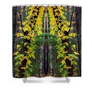 The Wishbone Tree Shower Curtain