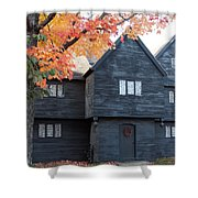 The Witch House Of Salem Shower Curtain