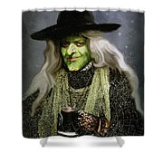 The Witch Of Endor As A Cavalier Shower Curtain