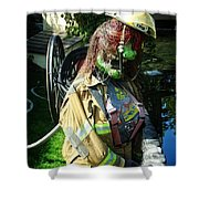 The Witches Fire Department Shower Curtain