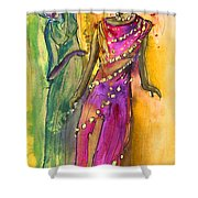 The Witches From Las Palmas Shower Curtain