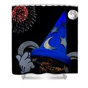 The Wizard Walt Disney World Shower Curtain