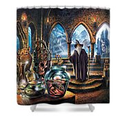 The Wizards Castle Shower Curtain