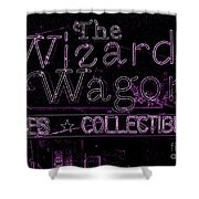 The Wizard's Wagon 2 Shower Curtain