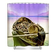 The Woodcutter's Wife Shower Curtain